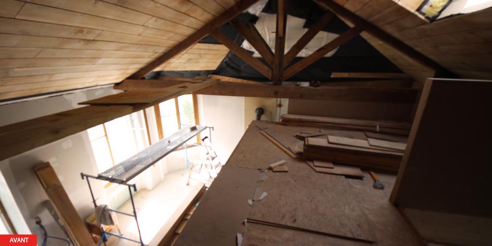 laurence desforges architecte ouverture des espaces et mezzanine. Black Bedroom Furniture Sets. Home Design Ideas