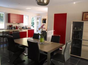 Modernisation d'une cuisine et d'un séjour