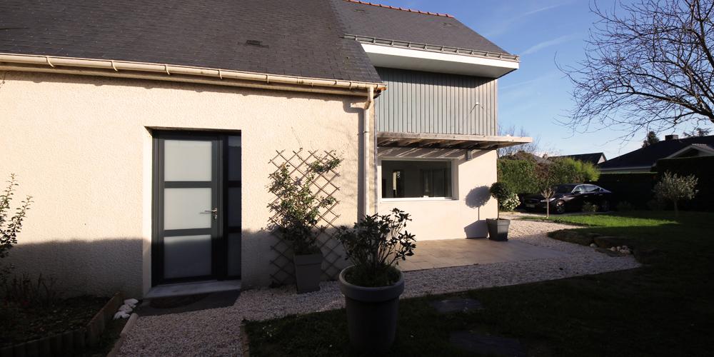 Laurence desforges architecte petite extension et for Petite extension